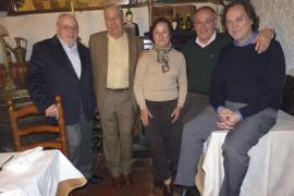 Cena de despedida al delegado de Iberia en Baleares, José Ramón Pérez