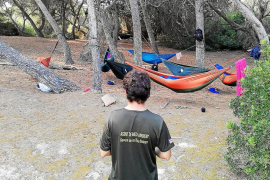 Denunciadas 60 personas durante el fin de semana por acampar en espacios protegidos de Mallorca