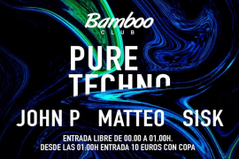 Nace 'Pure Techno', un nuevo evento a manos de Bamboo Club