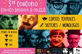 Llega la tercera edición del concurso cómico Delirious & Fesjajá