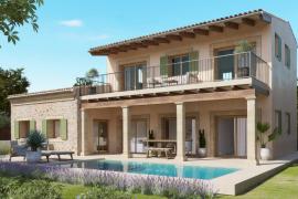 Villa de nueva construcción de estilo tradicional cerca de es Trenc