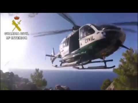 La Guardia Civil realiza dos rescates de montaña en un día en Mallorca