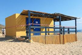 Artà apuesta por conservar un chiringuito en Cala Torta tras la demolición del actual