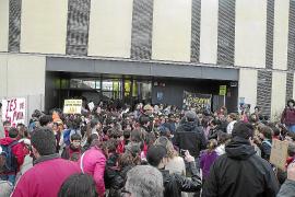 MANIFESTACIÓ DELS ESTUDIANTS DE L'INSTITUT SANTA MARIA