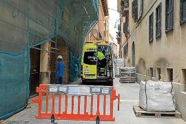 Herido un soldador al caer en una obra de un edificio de Palma