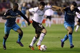 El Valencia, entre la resaca europea y la vuelta a la Liga