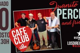 Juanito Percha & Friends en concierto en los Directos de Es Gremi