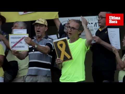 Las canciones por la libertad de los presos catalanes llegan a Marivent