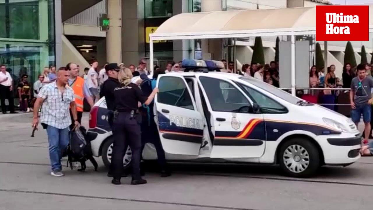 Dos turistas agreden a un policía y a un vigilante en el aeropuerto de Palma