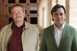 Mateu Morro, nuevo gerente del FOGAIBA y Francesc Miralles, director general de Cooperación Local y Patrimonio