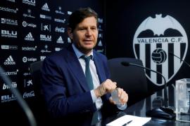 Mateu Alemany continuará como director general del Valencia