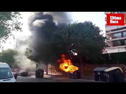 Arde un contenedor en Marratxí y tres en Palma