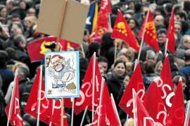 Los sindicatos salen hoy a la calle en 60 ciudades de todo el país