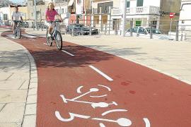 Carril bici en el Molinar
