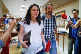 Irene Montero y Pablo Iglesias anuncian el nacimiento de Aitana