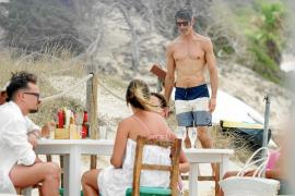 Jorge Fernández disfruta de nuevo de sus vacaciones en Formentera