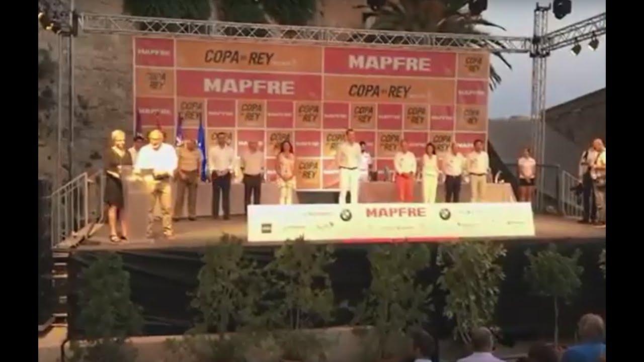 Felipe VI clausura la Copa del Rey de vela con la entrega de premios en Palma
