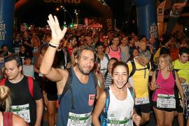 6.000 'marxaires' retoman la ruta a pie desde el Güell a Lluc
