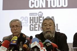 Los sindicatos invitan al Gobierno a dialogar para desconvocar la huelga general del 29-M