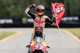 Márquez, con un triunfo incuestionable, suma su sexta victoria de la temporada