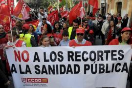 Más de 1.500 personas protestan en Palma contra la reforma laboral del Gobierno