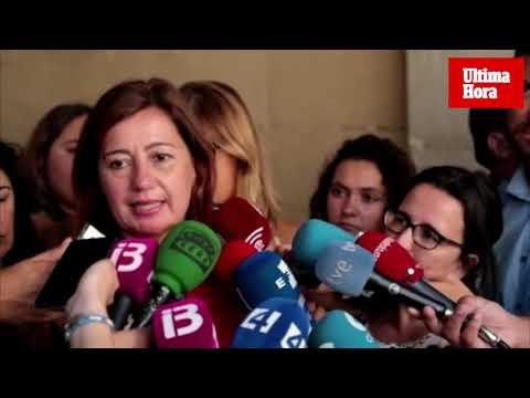 Armengol, tras reunirse con el Rey: «Espero que Sánchez pueda ser presidente lo antes posible»