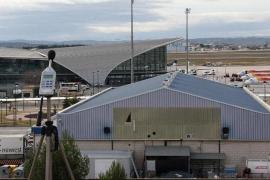 Vista del aeropuerto de Manises