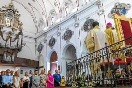 Ibiza celebra en la casa de María la fiesta en su honor