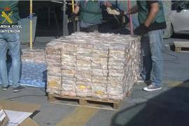 La planta incineradora de Son Reus quema cerca de 600 kilos de cocaína
