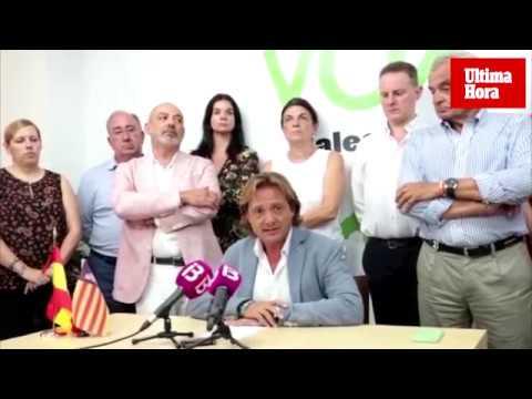 Campos asegura que la dimisión de Contestí se debe a «una conspiración para acabar con Vox Baleares»