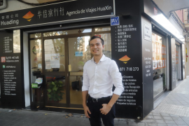 Minwei Jiang, el primer residente chino que asistirá a una recepción de la Casa Real en Palma