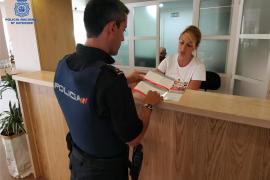 «Plan de turismo seguro» en Palma: Los consejos de la Policía Nacional a turistas