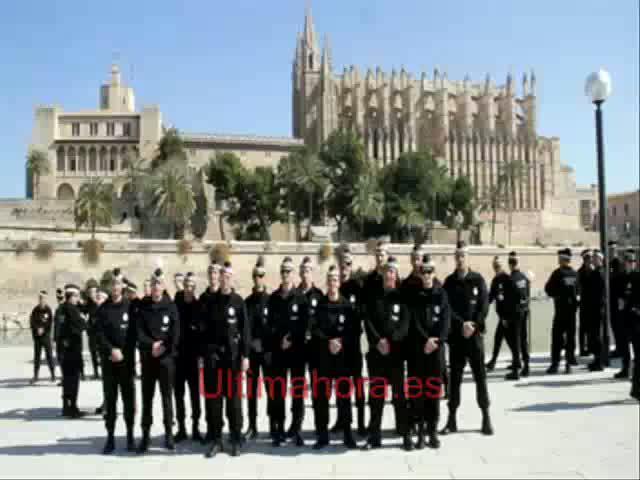 La nueva unidad de seguridad integral de policía de Palma cuenta con 60 agentes