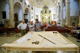 Joan Soler ultima su 'visión' del Llit de la Mare de Déu en els Sagrats Cors