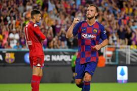 El Barcelona supera por la mínima al Nápoles