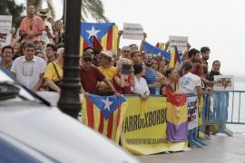 Assemblea Sobiranista acusa a la Delegación de Gobierno de silenciarles en la concentración antimonárquica
