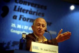 Juan Goytisolo partició en la pasada edicion de las jornadas literarias de Formentor