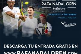 Algunos de los mejores tenistas del planeta se citan en el Rafa Nadal Open by Sotheby´s International Realty