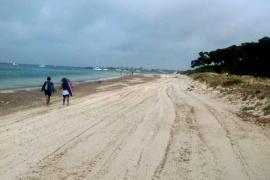 ¿Una autopista en la playa de es Carbó?