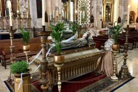 Un total de 55 iglesias de Mallorca expondrán 'llits de la Mare de Déu' con motivo de la Asunción el 15 de agosto