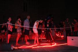 Noche de Perseidas en el Castell de Bellver