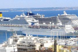 El puerto de Palma perderá esta temporada unos 10.000 cruceristas cada semana