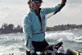 Álvaro de Marichalar pretende dar la vuelta al mundo en moto acuática