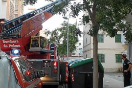El incendio en un tercer piso de la calle Goya de Palma fue intencionado