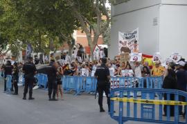 El Govern investigará el 'Cara al Sol' de la corrida de toros en Palma