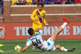 Griezmann se estrena como goleador con el Barça