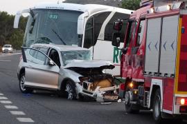 Una mujer muerta y otra en estado crítico en un accidente en Portocolom