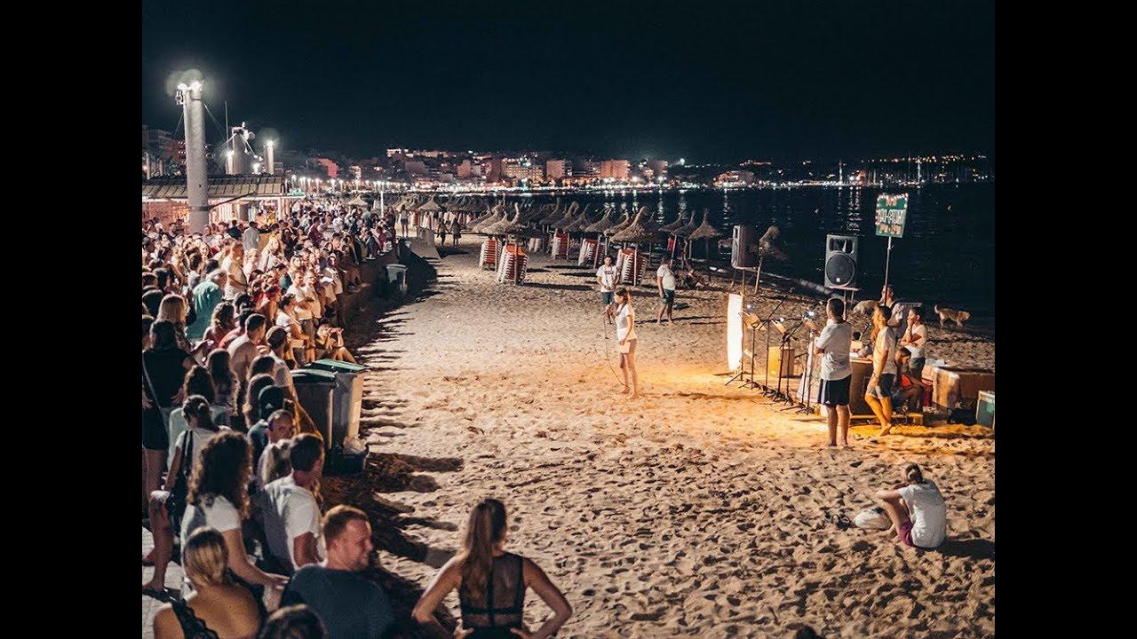 La policía expedienta a una organización religiosa por ruidos en la Playa de Palma