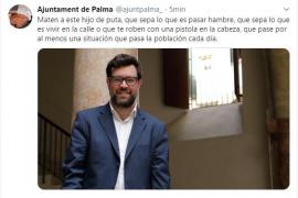Hackean al Ajuntament de Palma en Twitter y amenazan de muerte a Noguera