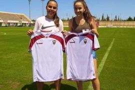 Nerea Orfila y Catalina Roselló fichan por el Albacete B